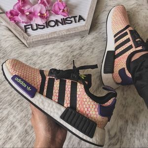 NWT 🍭 Rare Adidas NMD R1 Popsicle Orange/Red